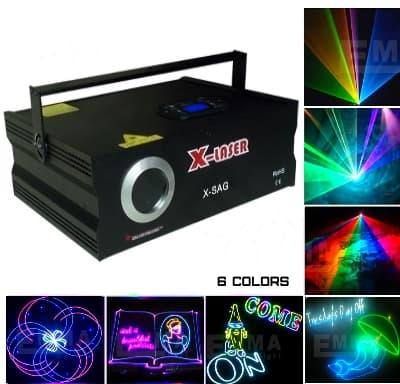 Программируемая лазерная установка
