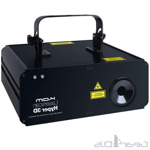 Лазерная реклама, Лазерный проектор для рекламы